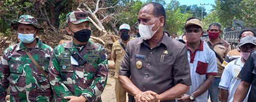 Bupati Alor : Bila Tidak Dibantu TNI, Kami Tidak Bisa Berbuat Banyak